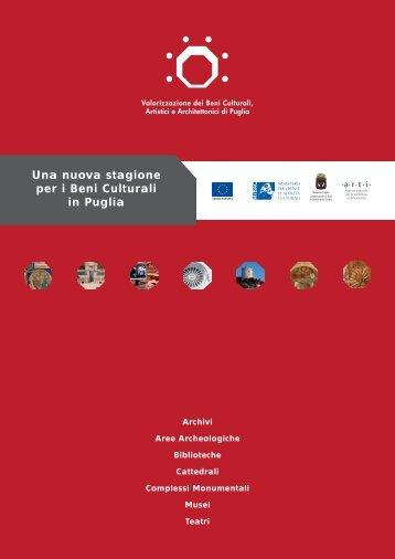 Una nuova stagione per i Beni Culturali in Puglia - ARTI Puglia