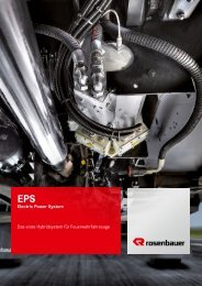 EPS Electric Power System. - Rosenbauer International AG