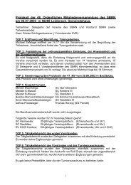 Protokoll der 48. Ordentlichen Mitgliederversammlung des SBRN ...