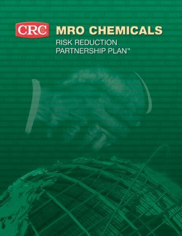 Risk Reduction Partnership Plan™ Brochure - CRC Industries