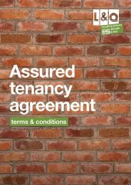 Assured Tenancy Agreement - London & Quadrant Group