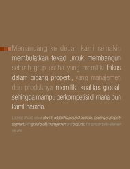Report - Ciputra Development
