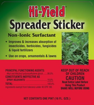 Label 31062 Spreader Sticker Approved 3-7-13 - Fertilome