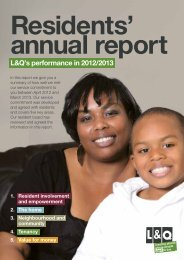 Resident annual report 2013 summary