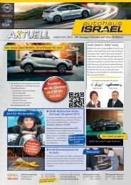 Premiere am 06. Oktober ab 9:00 Uhr bei uns! - Autohaus Israel GmbH