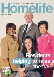 Homelife Issue Two 2012 - London & Quadrant Group