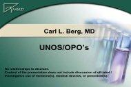 UNOS/OPOs - AASLD