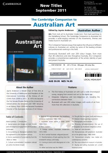 PDF - September Kit 2011 - Cambridge University Press