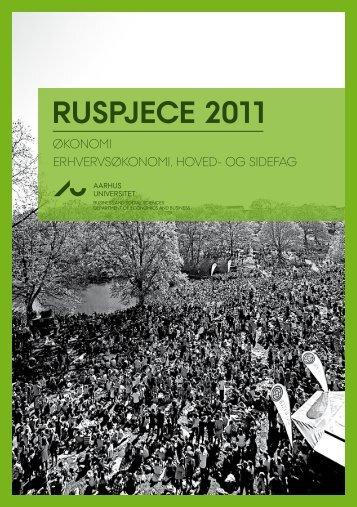 RUSPJECE 2011 - Aarhus Universitet