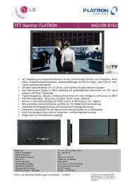 TFT Monitor FLATRON M4210N-B10J - Onyougo.de