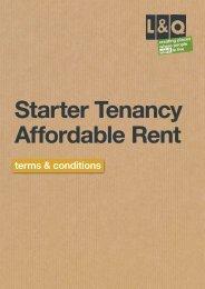 Starter Tenancy Affordable Rent - London & Quadrant Group