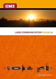 Land communication range - Truckline