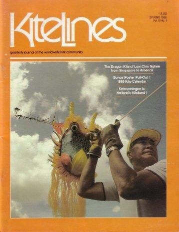 Kite Lines - Spring 1986 (Vol. 6. No. 1) - KiteLife