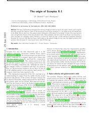 arXiv:astro-ph/0301580 v1 29 Jan 2003