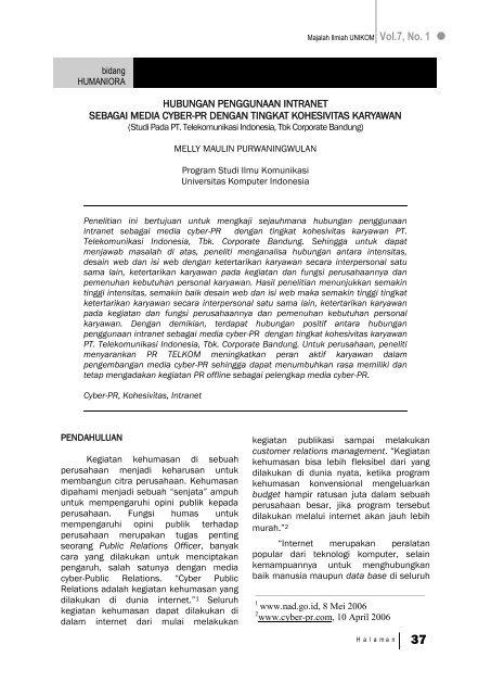 Artikel Teknologi Pdf