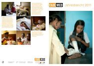 Jahresbericht 2011 - Fairmed