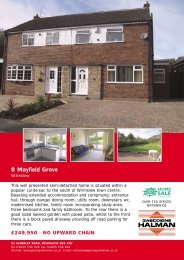 8 Mayfield Grove - Check