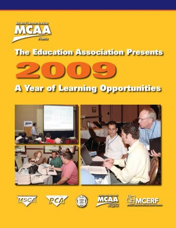 A Year of Learning Opportunities - Mechanical Contractors ...