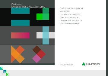 IDA Ireland Annual Report & Accounts | 2012
