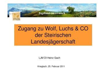 LJM GACH 25 03 2011 Krieglach - Jagdschutz - Mz