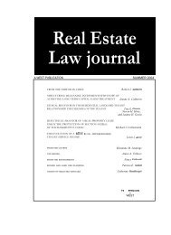 Does the Guarantor of a Real Property Lease Enjoy the Protection of ...