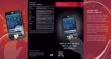 user manual hp ipaq hx4700 pocket pc 1 rh yumpu com Pocket PC Phone Verizon XV6600