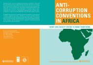 anti- corruption conventions inafrica what civil society ... - Agora Portal