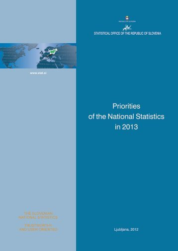 Priorities of the National Statistics in 2013