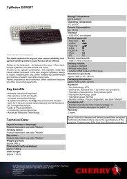 Manual pdf Cherry G86-22000ESADAB - Onyougo.com