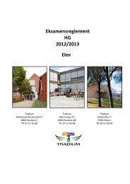 Eksamensreglement for elever - Tradium
