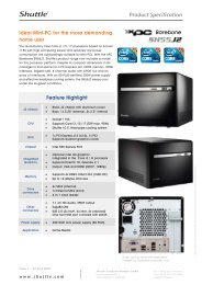 Product Specification - Home cinema systems