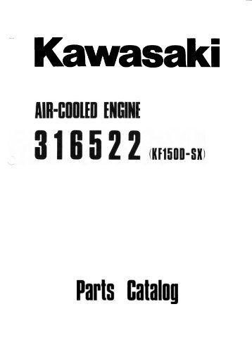 Kawasaki FA76D (Float Carb) Parts List