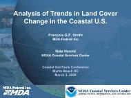 Francois Smith, MDA Federal Inc. - GeoTools - NOAA