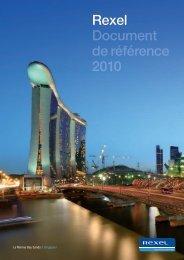 2010 Rexel Document de référence