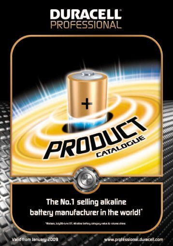 Manual pdf Duracell Ultra Batteries AAA 4 + 4 - Onyougo.com