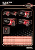 Manual pdf Duracell Ultra Batteries AAA 4 + 4 - Onyougo.com - Page 5