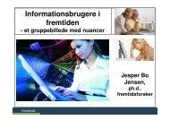 Informationsbrugere i fremtiden - Fremtidsforskeren Jesper Bo Jensen