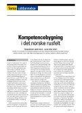 Kompetencebygning i det norske rusfelt - Stof - Page 2