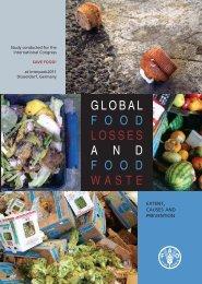 Global food losses and food waste - FAO