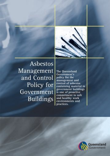Asbestos Management and Control Policy for Government Buildings