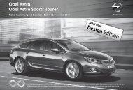 Sonderausstattung - Opel-Infos.de