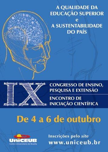 IX Congresso (2011) - UniCEUB