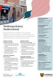 Medborgarskolan (PDF, 208 kB) - Linköpings kommun
