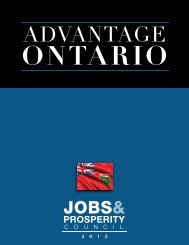 Advantage Ontario - Guelph Chamber of Commerce