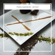 Pastry ingredients - dry fruit