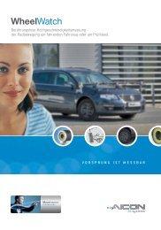 Broschüre WheelWatch (PDF) - AICON 3D Systems