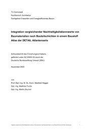 Forschungsbericht Vergleichende Nachhaltigkeitskennwerte von ...
