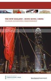 the new zealand – hong kong, china closer economic partnership