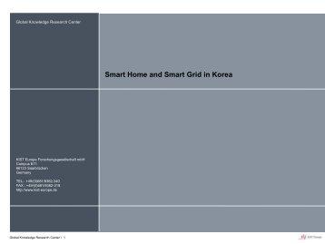 슬라이드 1 - ICT for sustainable homes