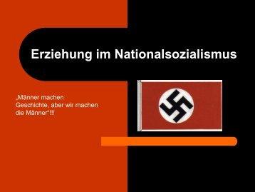 Erziehung im Nationalsozialismus - Ploecher.de